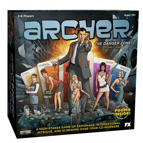 Archer The Danger Zone Board Game