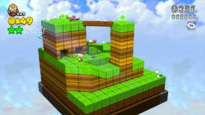 New Super Mario 3D World Single Player Only Puzzle