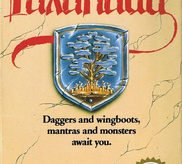 The box art for Faxanadu, an NES game.